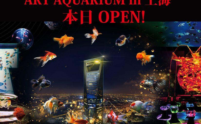本日オープン!!中国・上海開催『ART AQUARIUM IN 上海 & NIGHT AQUARIUM锦鳞・溢彩 ~凌空金鱼艺术展~』